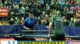 中欧乒乓球世界冠军对抗表演赛在泰州举行