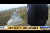 年轻小伙不务正业 盗窃20余座坟墓被抓