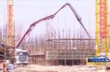 """泰州市首个""""楼房养猪""""项目在靖建设"""
