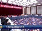 我市全国人大代表参加江苏代表团全体会议  何健忠发言:提高履职能力  体现责任担当VA0