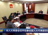 市人大常委會召開在泰全國人大代表座談會