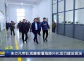 朱立凡帶隊觀摩姜堰海陵興化項目建設現場