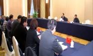市政协五届二次会议召开决议起草委员会会议