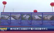 泰兴虹桥工业园区5个重大项目集中开工