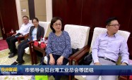市領導會見臺灣工業總會等團組