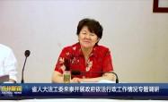 省人大法工委來泰開展政府依法行政工作情況專題調研
