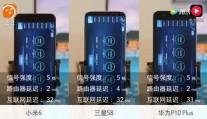 小米6、三星S8和华为P10 Plus的wifi信号对比测试