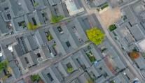 俯瞰稻河古街区
