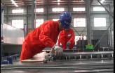 泰州首条装配式建筑制造生产线投入运行