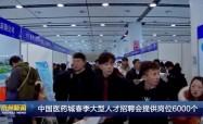 中国医药城春季大型人才招聘会提供岗位6000个