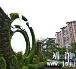 【靖江】滨江新城中洲路与通江路交界处再添绿雕