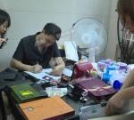 端午不打烊,泰州医药高新区法院的干警们忙着抓老赖……