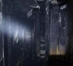 姜堰一空关浴室凌晨莫名着火,烧了两层楼
