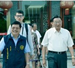 海基会前董事长江丙坤去世!去年,85岁的他还造访泰州……
