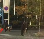 事發靖江市人民南路交叉口,一位老爺爺斑馬線前發抖,這時……