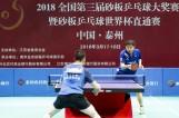 【赛事】2018全国第三届砂板乒乓球大奖赛在泰州开拍 冠军将获得世界杯资