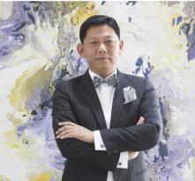 旅美艺术家曹俊
