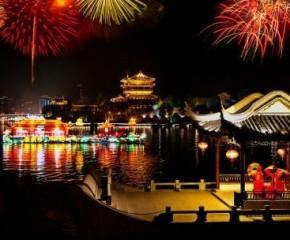 百集微視頻《發現泰州之美》第五集:水天堂 夜游城