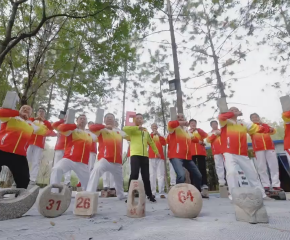 百集微視頻《發現泰州之美》第八十三集:石鎖記