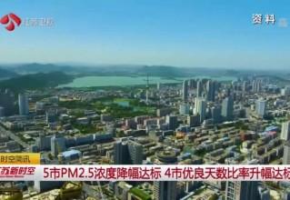 江苏卫视报道:泰州这两项指标全部达标!