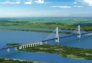 常泰長江大橋最近進展,再創世界之最!