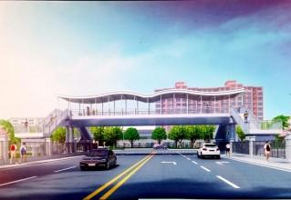 泰兴这所学校将建人行天桥