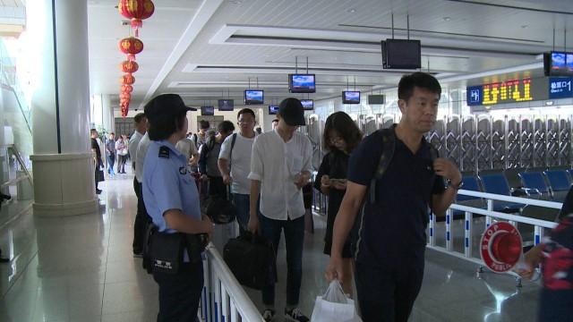 """泰州火车站正式对进京旅客实行""""二次安检""""! 持续至十月二日……"""
