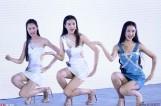 美少女中国模特选拔大赛众美少女穿热裤秀长腿