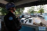 中国维和警察防暴队参加联利团撤离演练获好评