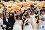 【图文】227对新人在广州参加缆车集体婚礼