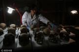 【图文】墨西哥出土650颗古印第安人头骨 或与祭祀习俗有关