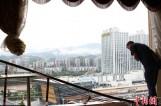 【图文】四川广元遭暴风雨突袭 11级大风吹跑10楼窗户